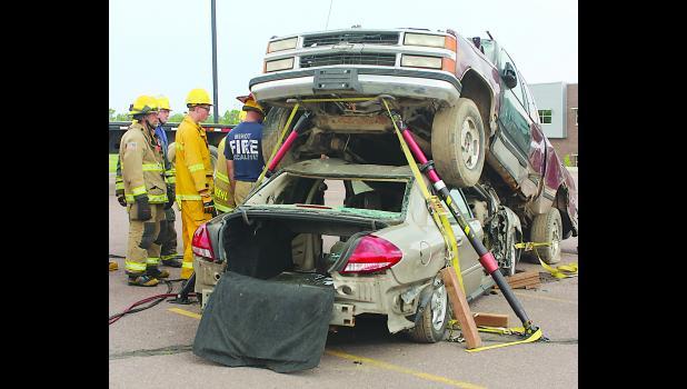 From South Dakota Fire School