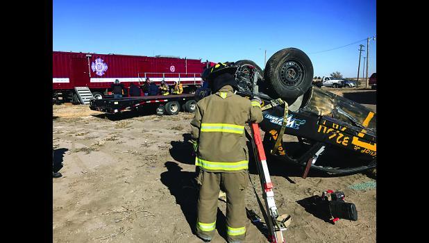 Fire School at Utica, Kansas